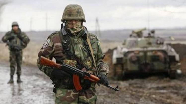 ВЛуганской области боевики обстреляли силы АТО— ранен один военнослужащий