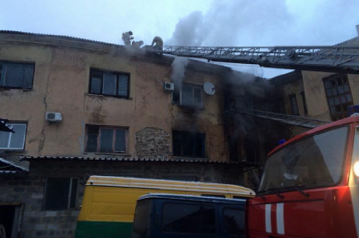 Пожар вКировском районе Донецка— есть погибшие