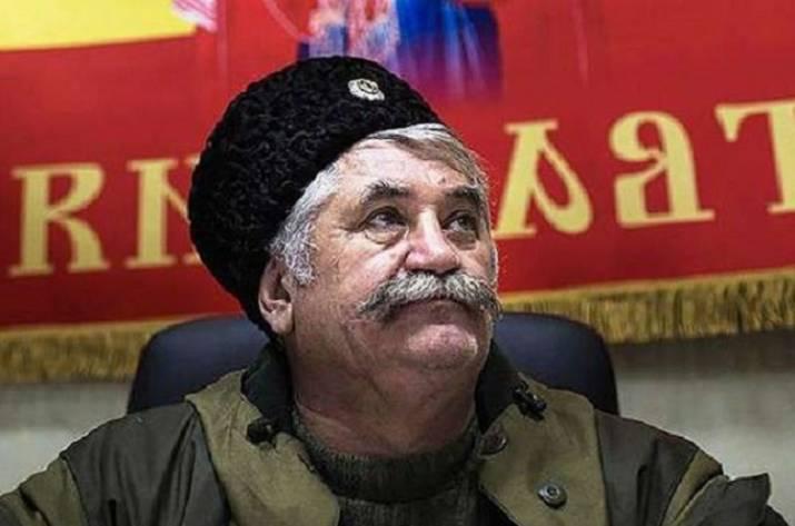 Начальнику русских казаков Козицыну объявлено о сомнении