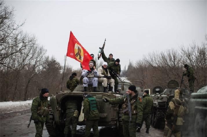ВДонецкой области БМП оккупантов раздавил автомобили гражданских— есть раненые