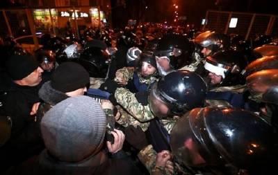 Столкновения в Киеве. Фото