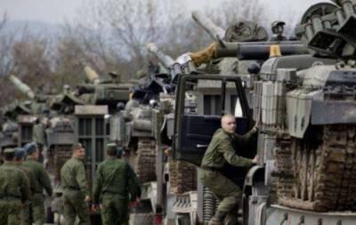 Российская техника на Донбассе