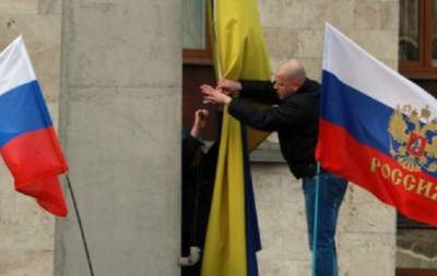 Сепары в Донецке