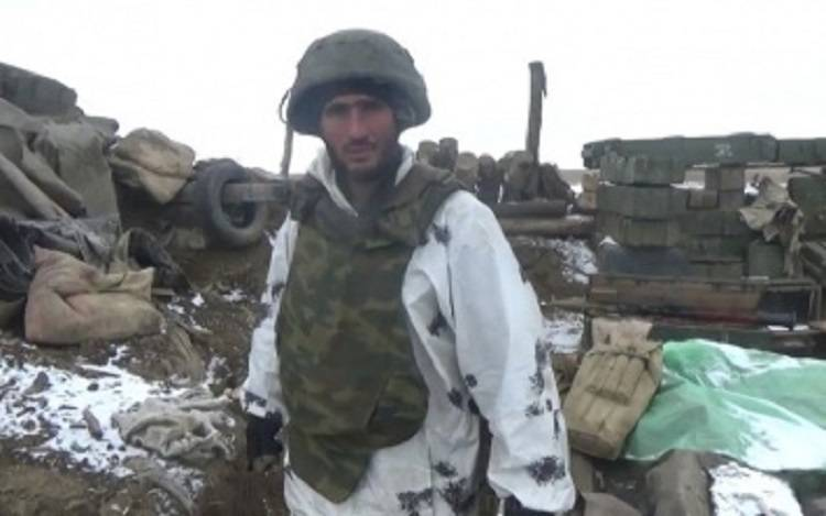 Боевик-чеченец