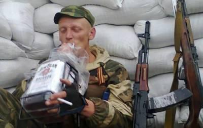 Боевик пьет