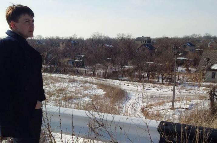 Савченко поведала освоем въезде вДНР по«козьим тропам»