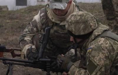 Пехотинцы ВСУ