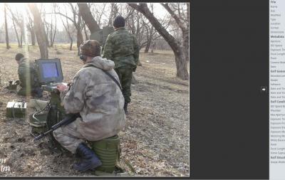 Российское вооружение на Донбассе