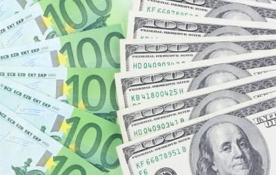 валюта доллары и евро