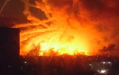 Взрывы в Бакалее