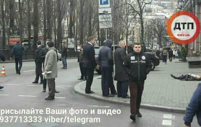 Расстреляли мужчин КИев