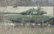 Российские танки на границе с Украиной