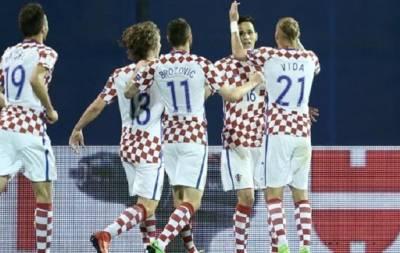 Хорватия обыграла Украину