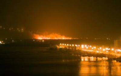 Пожар на Осокорках