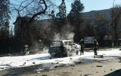 Взрыв в Мариуполе