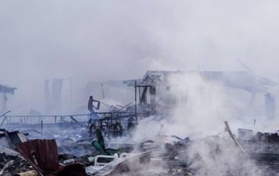 Взрыв на фабрике в Португалии