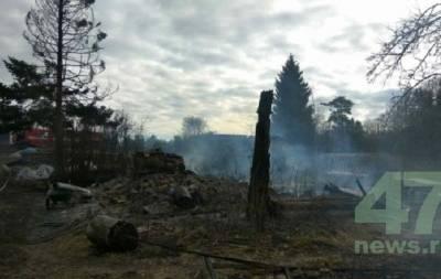россиянин сжег деревню