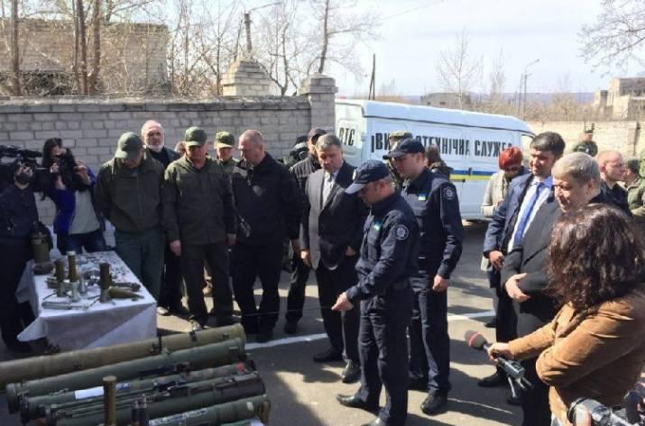Аваков в Рубежном