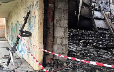 Пожар в кинотеатре Донецк