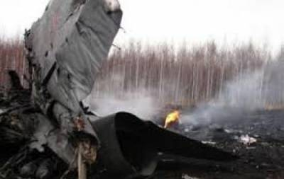 В Бурятии упал истребитель-перехватчик