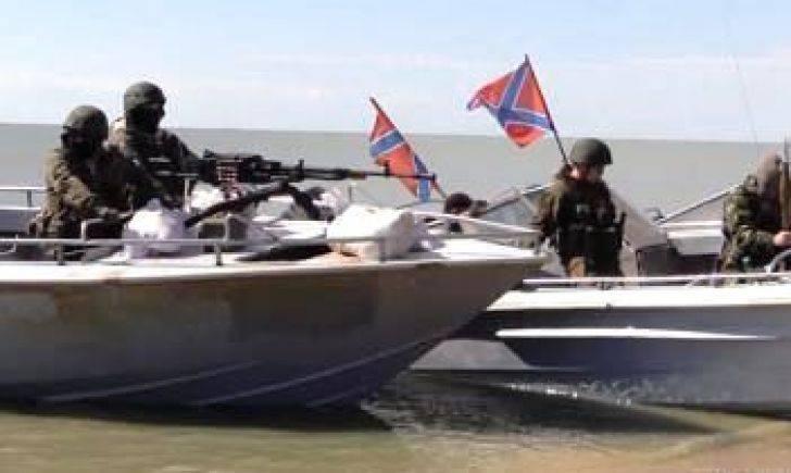 Командование боевиков подняло вопрос осоздании «Азовской флотилии ДНР»