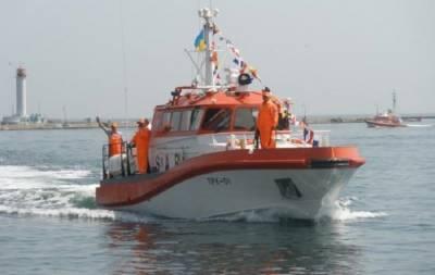 Украинский спасательный катер