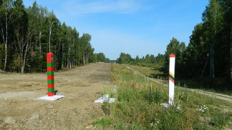 Граница Литвы и России