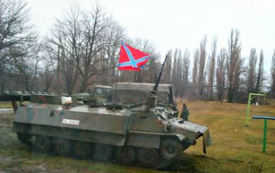 Бронетехника боевиков