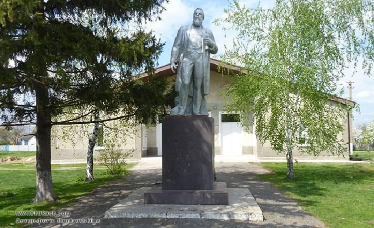 Памятник Ф.Энгельсу сУкраины повезут вБританию
