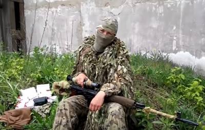 Снайперша из РФ