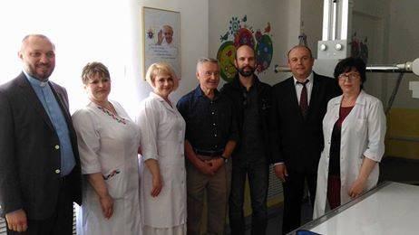 В Рубежном открыли обновленный рентген-кабинет