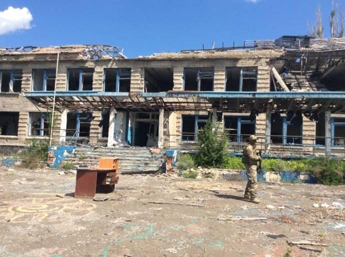 НаДонбассе восемь населенных пунктов уже неподлежат восстановлению
