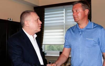 Хацкевич новый тренер Динамо