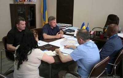 Представители ООН посетили Луганскую область
