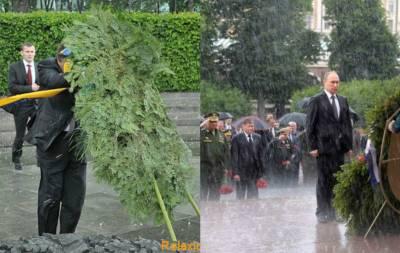 Мокрый Путин