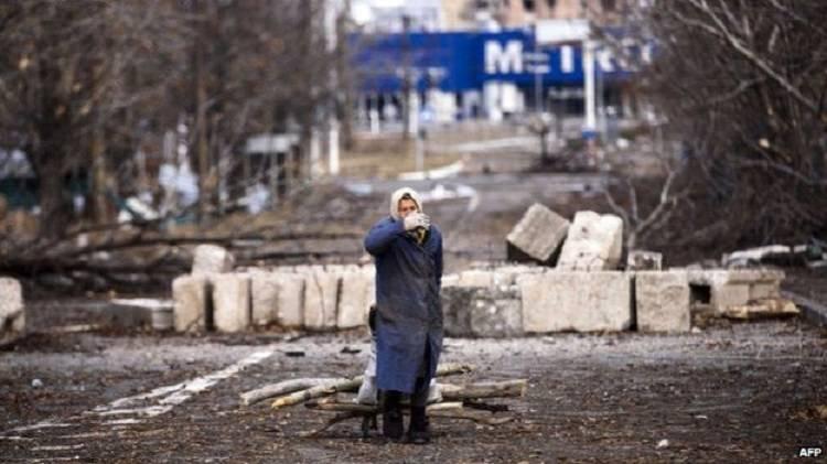 Руины на Донбассе